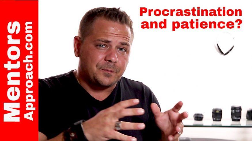 Procrastination and Patience