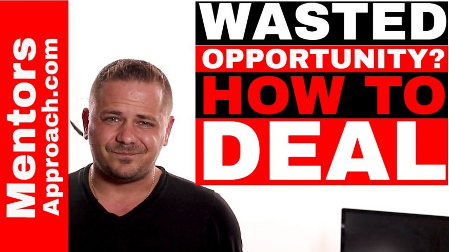 Wasted Opportunities and How to Deal?  Integrity and Emotions in Check