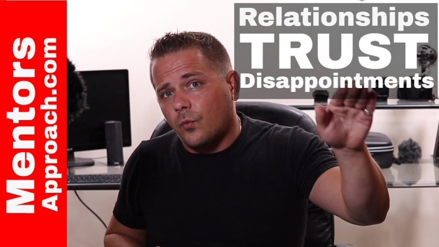Relationships, trust, and disappointments.  Q and A YouTube Response