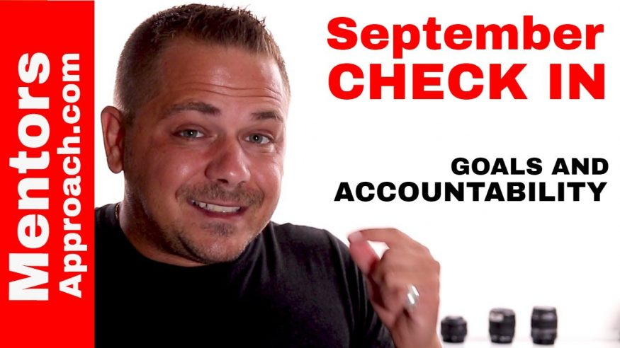 Where Are You With Your Goals? September Check In