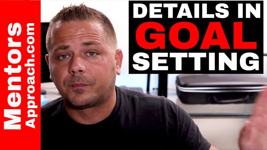Goal Setting is in the Details. YouTube Q and A