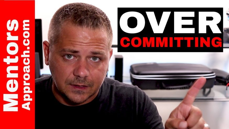 Goal Setting and Over Committing. YouTube Q and A