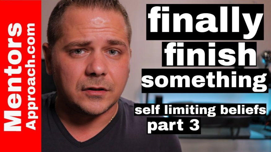 """I'm good at starting projects but never finishing a project 