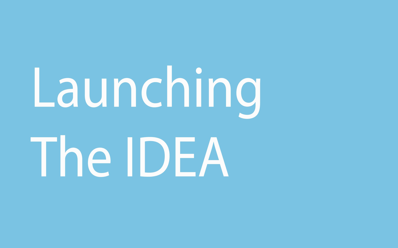 Launching the Idea